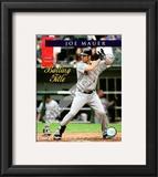Joe Mauer 2008 American League Batting Title Framed Photographic Print