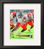 Dwight Freeney Syracuse University Orangemen 2001 Framed Photographic Print
