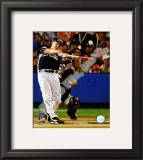 Justin Morneau 2008 MLB Home Run Derby Framed Photographic Print