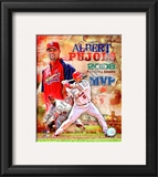 Albert Pujols 2008 NL MVP Framed Photographic Print