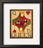 Queen of Hearts Posters by Dan Dipaolo