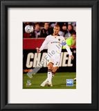 David Beckham 2008 Action(81) Framed Photographic Print