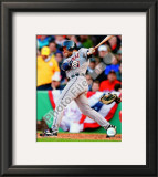 Placido Polanco 2008 Batting Action Framed Photographic Print