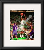 Rajon Rondo, Game 1 of the 2008 NBA Finals; Action 3 Framed Photographic Print