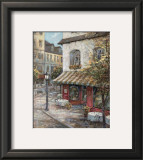 My Favorite Cafe Print by Ruane Manning