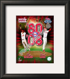 Tug McGraw & Brad Lidge Framed Photographic Print