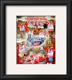 Detroit Red Wings, 2007-08 Stanley Cup Champions PF Gold Framed Photographic Print