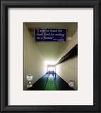 Yankee Stadium dugout Tunnel Final Game September 21, 2008 Framed Photographic Print
