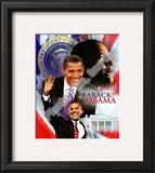 Barack Obama Framed Photographic Print