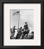 Iwo Jima, 1945 Framed Photographic Print