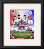 2010 MLB All-Star Game Matchup Composite Framed Photographic Print