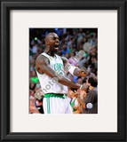 Kevin Garnett, Game Six of the 2008 NBA Finals Framed Photographic Print