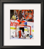 Michael Leighton 2009-10 Playoff Framed Photographic Print