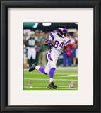 Randy Moss 2010 Action Framed Photographic Print