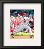 Adam Wainwright 2010 Framed Photographic Print