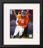 Tim Tebow 1st NFL Touchdown 2010 Action Framed Photographic Print