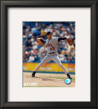 Joe Mays - Pitching Framed Photographic Print