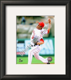 Jered Weaver 2010 Framed Photographic Print