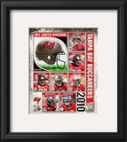 2010 Tampa Bay Buccaneers Team Composite Framed Photographic Print
