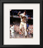 Buster Posey 2010 Action Framed Photographic Print