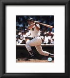 Thurman Munson - batting Framed Photographic Print