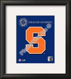 2008 Syracuse Team Logo Framed Photographic Print