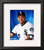 Carlos Lee - Studio Portrait Framed Photographic Print