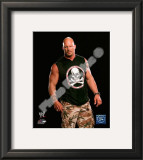 Stone Cold Steve Austin Posed Framed Photographic Print