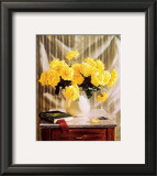 Yellow Roses Posters by Robin Anderson