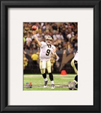 Drew Brees 2010 Action Framed Photographic Print