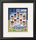 2010 San Diego Padres Team Framed Photographic Print