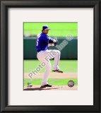 C.J. Wilson 2010 Framed Photographic Print
