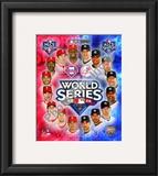 2009 MLB World Series Match Up Philadelphia Phillies Vs. New York Yankees Framed Photographic Print