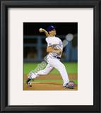 Ted Lilly 2010 Action Framed Photographic Print