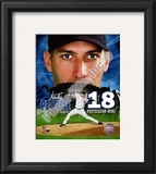 Andy Pettitte 18 Postseason Wins Framed Photographic Print