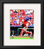 Carlos Ruiz 2010 Action Framed Photographic Print