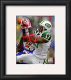 Braylon Edwards 2010 Action Framed Photographic Print