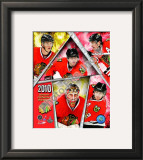 2009-10 Chicago Blackhawks Western Conference Champions Team Framed Photographic Print