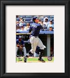 Evan Longoria 2010 Action Framed Photographic Print