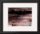 Bobby Thomson - 1951 Home Run (Dotted Line) Framed Photographic Print