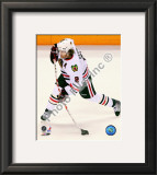 Duncan Keith 2009-10 Playoff Framed Photographic Print