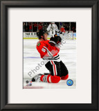 Marian Hossa 2009-10 Playoff Framed Photographic Print