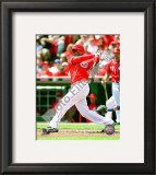 Brandon Phillips 2010 Framed Photographic Print