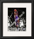 Kobe Bryant 2010-11 Spotlight Action Framed Photographic Print