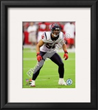 Brian Cushing 2010 Action Framed Photographic Print