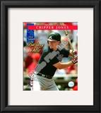Chipper Jones 2008 National League Batting Title Framed Photographic Print