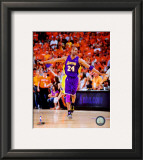 Kobe Bryant 2009-10 Playoff Framed Photographic Print