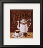 Cafe Mundo II Prints by Charlene Audrey
