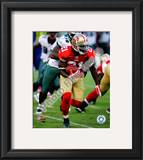 Frank Gore 2010 Action Framed Photographic Print