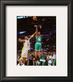 Ray Allen Game Two of the 2009-10 NBA Finals Framed Photographic Print